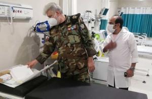 اقدامات نیروی زمینی ارتش برای مقابله با کرونا