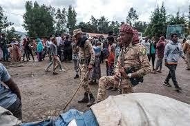 قتل عام ۱۵۰ غیرنظامی به دست شبه نظامیان در شمال اتیوپی