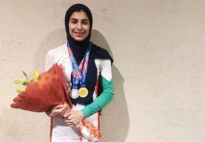 دومی محیا دارابیان در کمباین سنگنوردی قهرمانی جوانان جهان