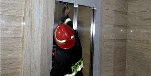 انجام ۱۴۶ َعملیات نجات از آسانسور در سنندج