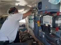 حمله اراذل و اوباش به آمبولانس در حال ماموریت در یزد