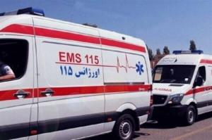 اراذل به آمبولانس اورژانس یزد حمله کردند