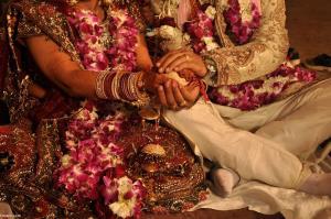 عروس و داماد در مراسم جشن عروسی شنا سوئدی رفتند!