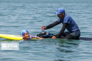 ثبت بیشترین مسافت متوالی شنای کشور در رده نوجوانان