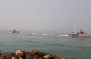 رزمایش اقتدار دریایی در آبهای خلیج فارس برگزار شد