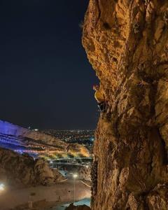 صخره نوردی،پارک سایه شیراز..📸