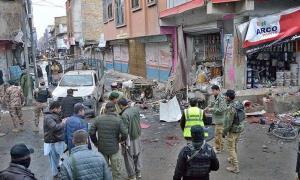 حمله انتحاری به نیروهای امنیتی در پاکستان ۴ کشته برجای گذاشت