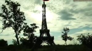 ساخت برج ایفل در طبیعتی بکر