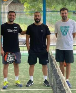 چهرهها/ میلاد کی مرام و علی ضیا در باشگاه تنیس