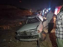 تصادف در «سنقر» ۳ کشته به جا گذاشت