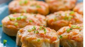 بروشتای هویج، یک نوع پیش غذا و فینگرفود خوشمزه