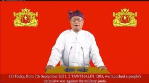 رهبر جریان مقاومت میانمار خواستار قیام سراسری علیه حکومت نظامیان شد