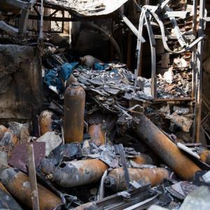بررسی علت حادثه آتش سوزی کلینیک سینا مهر در کمیسیون بهداشت مجلس
