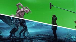 پشت صحنه جلوههای ویژه جالب از یک فیلم