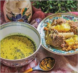 غذای اصلی/ روش طبخ «آبگوشت کشک لری» یک غذای سنتی پرطرفدار