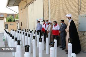 تامین ۱۴۰ کپسول اکسیژن برای بیماران نیازمند خراسان شمالی