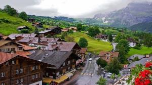 طبیعت کوهستانی بینظیر در سوئیس