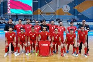 تیم ملی فوتسال عازم لیتوانی شد