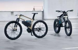 طرح اولیهی دوچرخه و موتورسیکلت برقی «بی ام و» رونمایی شد
