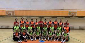 اولین تمرین تیم ملی فوتسال در لیتوانی برگزار شد