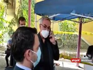 گلایه وزیر بهداشت از رئیس اورژانس بابت معطلی مردم در تزریق واکسن