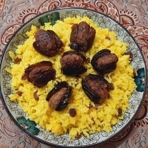 دستور تهیه خرما پلو غذای سنتی اهواز