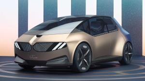 رونمایی از جدیدترین خودروی برقی کمپانی BMW با کانسپتی دیدنی