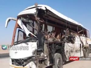 تصادف مرگبار اتوبوس با کامیون 4 فوتی برجای گذاشت