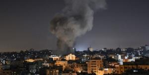 حمله رژیم صهیونیستی به اهدافی در مرکز نوار غزه