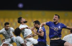 واکنش بازیکنان الهلال بعد از پیروزی مقابل استقلال