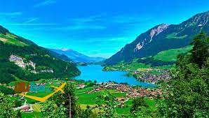 ویدئویی از طبیعت زیبای «لانگرن» سوئیس