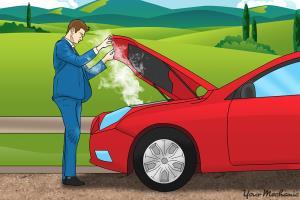در هنگام جوش آوردن خودرو چه کنیم؟