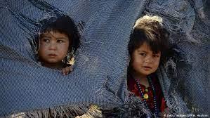 يک ميليون کودک افغانستاني در معرض مرگ