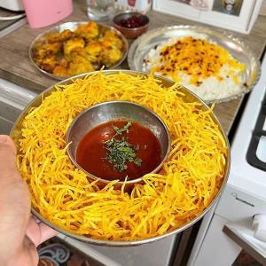 طرز تهیه چیپس خلالی پفکی و خوشمزه به روش رستورانی