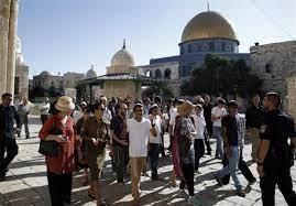 یورش شهرک نشینان صهیونیست به «مسجدالاقصی»