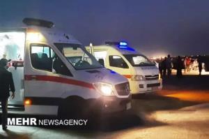 مصدومیت ۱۲ نفر در ۲ سانحه رانندگی خوزستان
