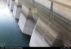 عکس/ افت شديد ذخاير آب در سدهاي تهران
