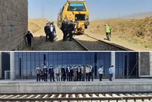 فتاح: بنیاد مستضعفان روسازی راهآهن اردبیل را در موعد مقرر تکمیل میکند