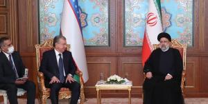 تاکید رئیسی بر ارتقای سطح روابط اقتصادی با ازبکستان