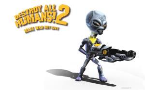 بازی 2 !Destroy All Humans در راه است