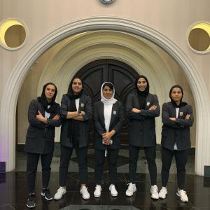 عکس/ تيپ رسمي دختران فوتبال ايران براي اعزام به انتخابي آسيا