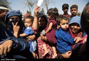 عکس/ کمپ پناهندگان در کابل