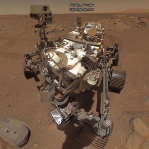 سلفی های جدید مریخ نورد استقامت