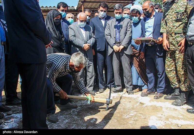 عکس/ آغاز عملیات اجرایی مسکن محرومان سراسر کشور در اردبیل