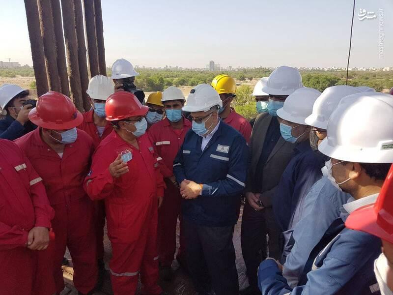 سفر سرزده وزیر نفت به استان خوزستان