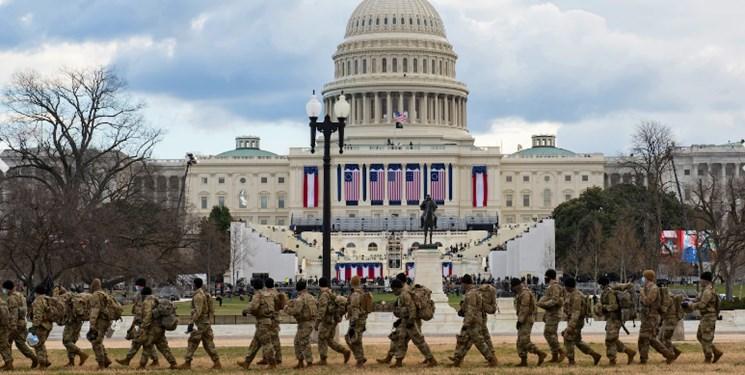 ۱۰۰ نیروی گارد ملی آمریکا برای محافظت از ساختمان کنگره مستقر میشوند