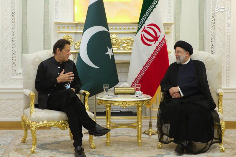 عکس/ دیدار عمران خان با رئیسی