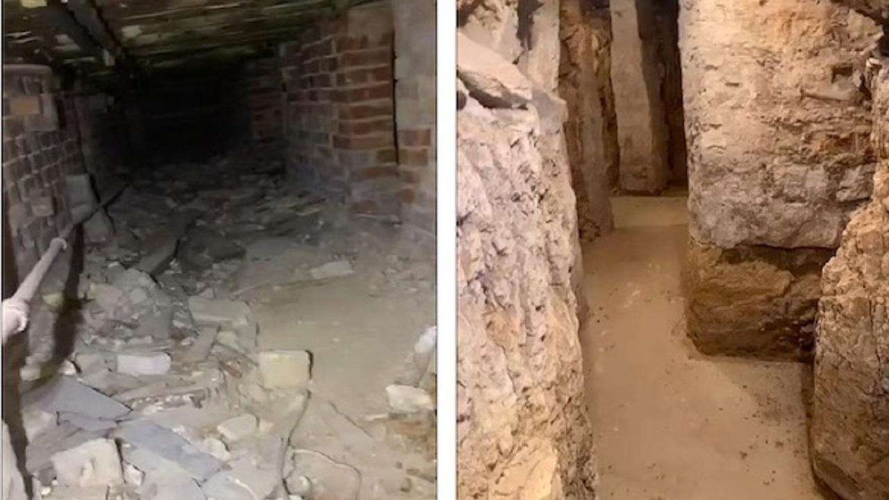 چیزهای عجیبی که مرد صاحبخانه در زیر زمین خانه اش دید