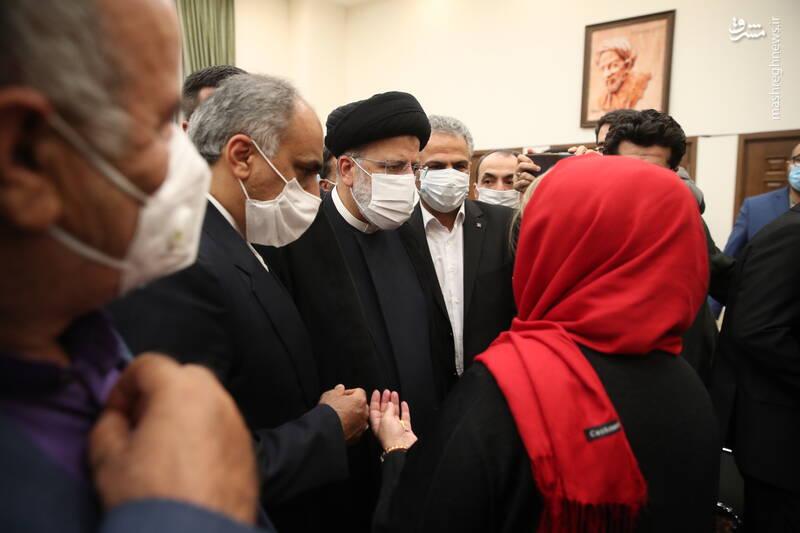 عکس/ دیدار ایرانیان مقیم تاجیکستان با رئیس جمهور