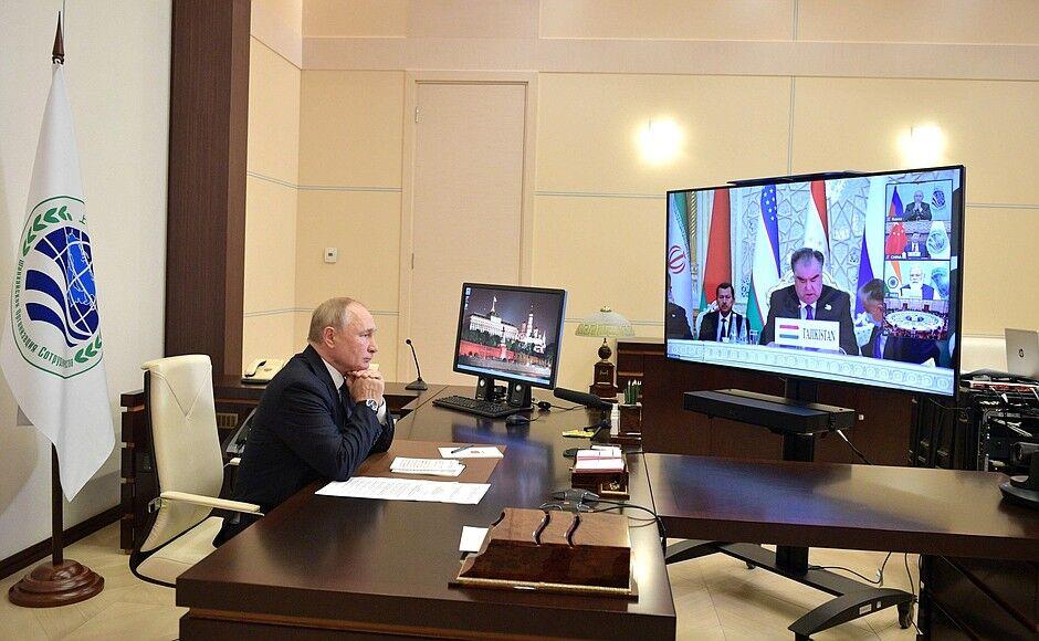 پوتین: از مشارکت تمام عیار ایران در سازمان شانگهای حمایت میکنیم